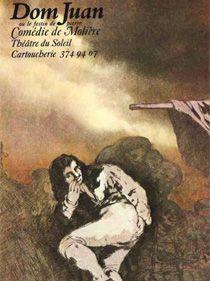 Spectacle Dom Juan Ou Le Festin De Pierre avec Philippe Caubère.
