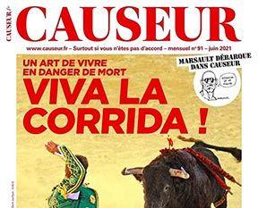 Article de Philippe Caubère dans le magazine Causeur.