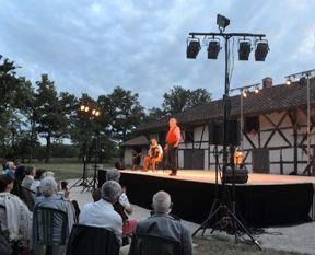 Les Lettres de mon moulin mises en scène et jouées par Philippe Caubère au Théâtre La Condition des Soies durant le Festival Théâtre sur un Plateau
